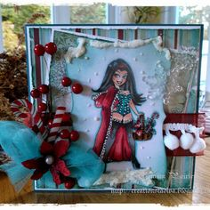 Handmade Christmas Cards (Scrapbooking) - Kenny K image - Christmas Greetings