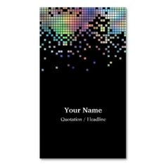 Hologram Business Card Template. I love this design! It is available for customization or ready to buy as is. All you need is to add your business info to this template then place the order. It will ship within 24 hours. Just click the image to make your own!