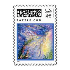 Mystical Fairies Postage Stamp
