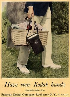 Shooting Film: 10 Beautiful Vintage Kodak Camera Advertisements from the 1910's
