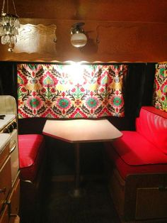 Redo we did of a vintage trailer.