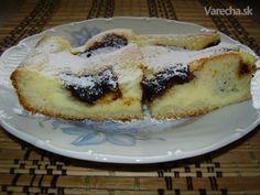 Tvarohový koláč so slivkovým lekvárom (fotorecept) - recept | Varecha.sk Cottage Cheese, Yummy Cookies, Desert Recipes, Ricotta, Tiramisu, Strudel, Sweet Tooth, French Toast, Cheesecake
