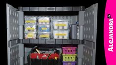 How to Organize Garage Tools & Hardware