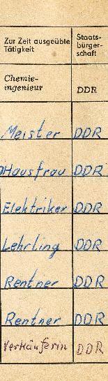 DDR Museum - Museum: Objektdatenbank - Hausbuch ab 1973     Copyright: DDR Museum, Berlin. Eine kommerzielle Nutzung des Bildes ist nicht erlaubt, but feel free to repin it!