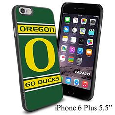 """NCAA O OREGON GO DUCKS , Cool iPhone 6 Plus (6+ , 5.5"""") Smartphone Case Cover Collector iphone TPU Rubber Case Black Phoneaholic http://www.amazon.com/dp/B00VVMSGB6/ref=cm_sw_r_pi_dp_-k2nvb1DHW81V"""