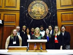 Representative Terri Austin met with Anderson University students during the Independent Colleges of Indiana Lobby Day.   Learn more about Political Science at Anderson University: http://anderson.edu/polsci