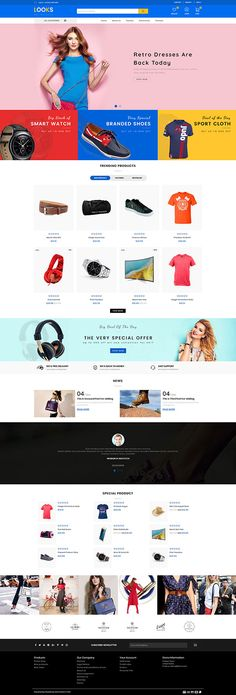 N/A Ecommerce Website Design, Website Design Layout, Online Themes, Fashion Web Design, Restaurant Themes, Electronic Shop, Flower Food, Best Web Design, Website Themes