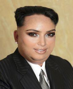 Kim Jong-Un as Kim Kardashian...scary doppelganger, don't you think??