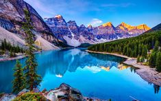 Incredible Travel Products You Didn't Know You Needed Moraine Lake ~ Banff National Park, Lake Louise, Alberta, Canada! I book travel! Land or Sea! All Nature, Amazing Nature, Nature Images, Nature Pictures, Romantic Pictures, Nature Study, Banff National Park, National Parks, Lago Moraine