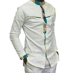 Special Use: Traditional Clothing Item Type: Africa Clothing Brand Name: RUBU Gender: Men Model Number: 5 Material: Cotton Type: Shirts Time of sale: 2017.12.1