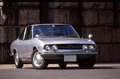 The Isuzu 117 coupe designed by Giorgetto Giugiaro.
