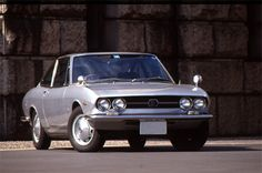 The Isuzu 117 coupe designed by Giorgetto Giugiaro.