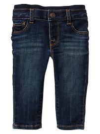 Knit-waist skinny jeans Baby Gap $25
