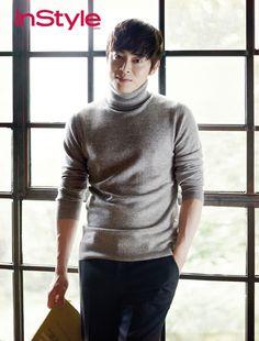 Shin Min Ah & Jo Jung Seok Become A Happily Married Couple For InStyle Korea's October 2014 Issue Korean Male Models, Korean Men, Asian Men, Asian Actors, Korean Actors, Oh My Ghostess, The King 2 Hearts, Cho Jung Seok, Shin Min Ah