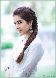 - beautiful hair styles for wedding Saree Hairstyles, Braid Hairstyles, Long Hairstyles, Beauty Tips, Hair Beauty, Front Hair Styles, Indian Wedding Hairstyles, Indian Hairstyles For Saree, Most Beautiful Indian Actress