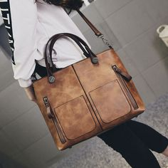 Nuevas mujeres de la marca bolso de las mujeres bolsos de hombro de la vendimia Europea de LA PU de cuero bolso de las mujeres de nueva moda casual bolsa de mensajero sólido, LB2577