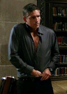 Jim Caviezel. Take it off, take it all off! sigh