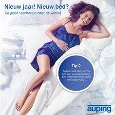 Nieuw jaar! Nieuw bed! Goed voorbereid naar de winkel? Tip 2: bedenk welk deel van je bed aan vervanging toe is.
