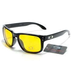 41b1f0dd1e oakley holbrook sunglasses black yellow iridium Holbrook Sunglasses
