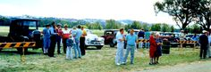 Brungle NSW: Car Club display at Centennary Celebrations (1988)