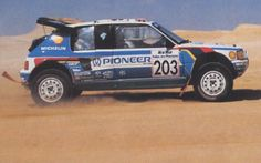 Rallye Paris Dakar, Good For Her, Audi Sport, The Best Is Yet To Come, Automotive Art, Four Wheel Drive, Rally Car, Day For Night, Peugeot 205