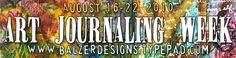 julie's art journal resources: some of her fav art journalers; inspirational links; fav brand names