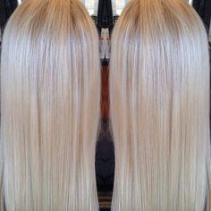 Soft cool blonde using Koleston 12/81 & 12/96 40volume