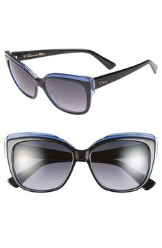 61635d6715d8 Christian Dior 56mm Cat Eye Sunglasses available at  Nordstrom Italian  Sunglasses