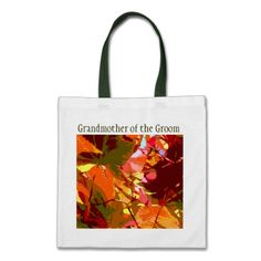 Colorful Leaves Abstract Customizable Tote Bag