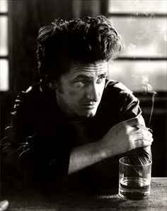 So if we have anything original to offer, it's to speak from our own life about the society we're in. Sean Penn