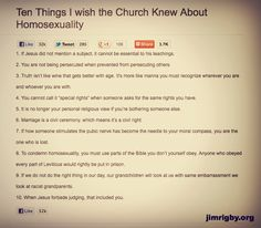 ten points you'll never see passed around a bible study session (but should be)