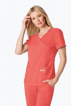 koi Designing Happiness™ - The official home of koi design scrubs. Koi, Scrubs, Ruffle Blouse, Tech, Shopping, Collection, Design, Women, Fashion