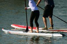 """Mistral's 12'6"""" Ocean Pro board. Photo Mandy West."""