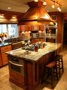 Kitchen Island With Oven Design, Pictures, Remodel, Decor and Ideas