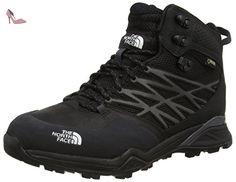 The North Face  Hedgehog Hike Gtx Mid, Chaussures Bébé marche homme, Noir (Black (TNF Black/TNF Black)), 45 1/2  ( 11 UK ) - Chaussures the north face (*Partner-Link)