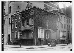 "This building remains today.  It's beautiful. ""Irving House"", N.Y. (LOC) by The Library of Congress, via Flickr"