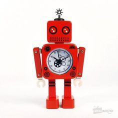 rveil robot cube - Affiche Garcon Robot