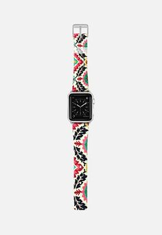 Lovely Floral Decoration Colorful Flowers Stylish Design Apple Watch Band (38mm) by Denis Marsili   Casetify