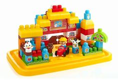 Mega Bloks - First Builders - Baril Ferme 37€