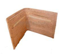 Wallet (model DD-1704) - Eco-friendly - made of real cork. From www.corkfashion.com