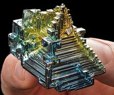 Make those long work hours go by faster by entertaining yourself with the iridescence of the bismuth crystal. Each crystal features its own unique blend of colors while featuring a low melting point that allows you to alter the crystal's physical appearance.