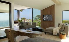 casa de praia no topo de uma colina-sala de estar