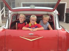 Coolest kids on the block. 57 wagon