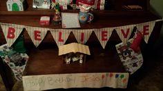 Elf on the shelf, Day 25 Christmas morning note & celebrating Jesus Birthday!