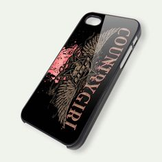 Country Girl iPhone 5 Case iPhone 4 Case iPhone 4s by casecrib, $14.99  Now i just need an i phone! lol