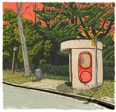 One of a series of signed and numbered High Resolution prints on archival paper. This series, Beautiful Bus Shelters of Canberra, consists of fifty. Newcastle, Bus Stop Sign, Bus Shelters, Capital City, Digital Prints, Street Art, Drawings, Illustration, Image