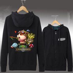 League of Legends engraçado Teemo impresso hoodies para meninos Hoodies, Sweatshirts, Grey Sweatshirt, Brazil, Adidas Jacket, Jackets, Black, Fashion, Baby Boys