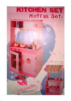 Oyuncak Ahşap Oyuncak Mutfak Set