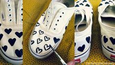 upcycled vans + 14 more DIY crafts for Teens!