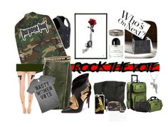 """#rockthevote"" by dominique-boiche ❤ liked on Polyvore featuring La Preciosa, Prada, Momeni, Christian Louboutin, Traveler's Choice, Burberry, Byredo, Victorinox Swiss Army, Roberto Coin and Casetify"